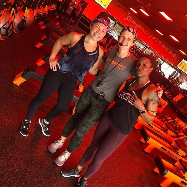 We're 50% sweethearts...50% cray cray... we care but we also think physical torture is fun... we're your OTF family and we've got your back 🔥🧡👌🏻 (Thanks @made_man_mike for the angles)
