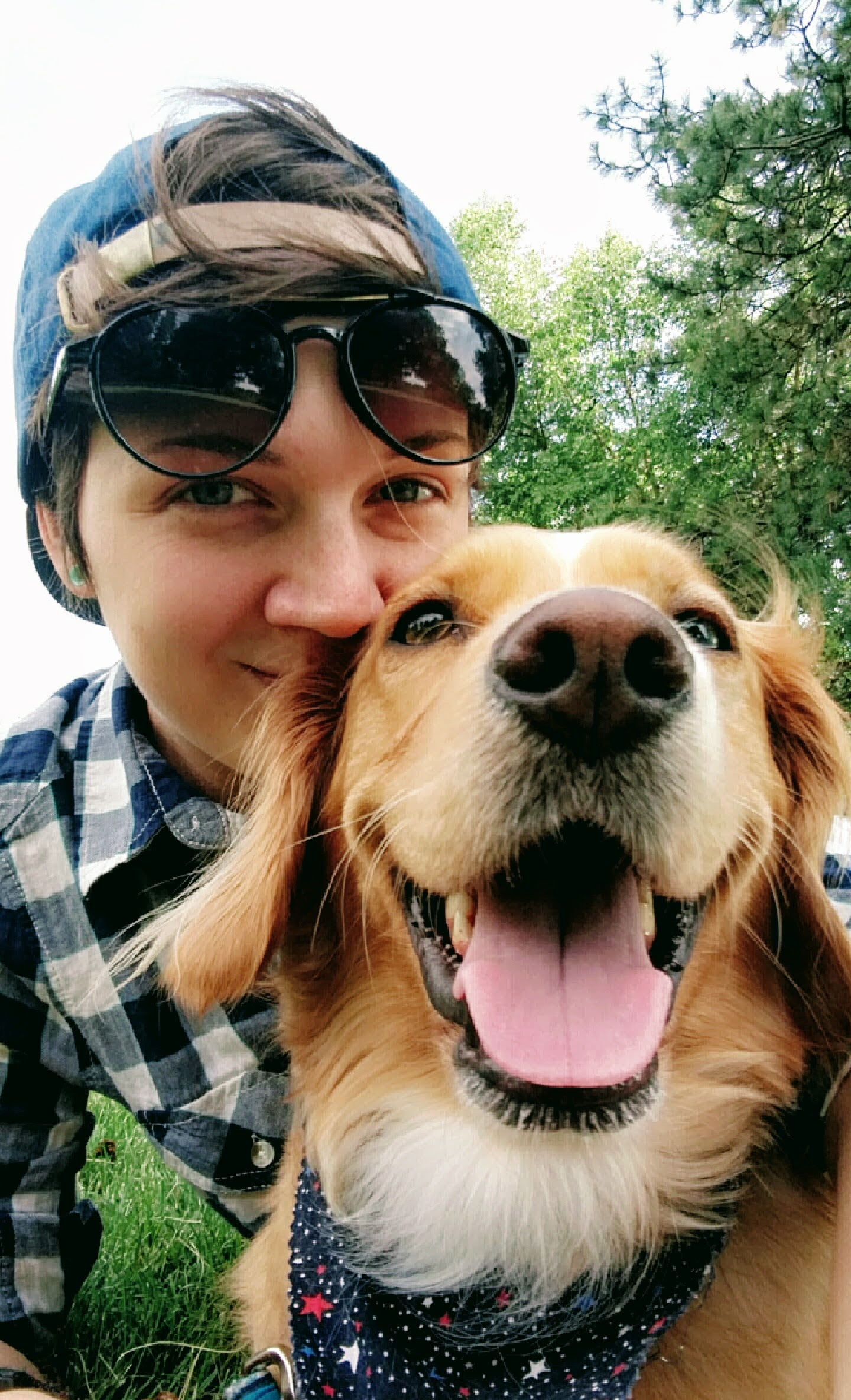 Amber Lequia (Co-owner/ tRAINER) - I moved to Boise in 2012 from Green Bay, Wi. Go Pack Go! It wasn't soon after I moved to Boise that I realized how dog friendly this beautiful place is! Growing up we only had one dog, a mix breed named Charlie Bear. Charlie was not trained, and basically ran our lives. We only taught him basic commands like sit, down, and roll over. He was not well behaved, not well socialized, and had zero leash skills. I had no idea the potential that dogs had when trained.When I arrived in Boise it was clear to me that I needed a hiking companion, and friend to keep me busy. It was very apparent from all the dogs I'd seen in the foothills and on the Greenbelt that training was definitely something that I was going to need to invest my time in. I adopted Remedy at 8 weeks old from a customer of mine when I was a Supervisor at Starbucks. She is a beautiful yet very stubborn Golden Retriever Mix. From the start I knew she was going to be a little difficult. She was horrible on a leash, barked at everything, and was incredibly stubborn and independent. I began my research online and found some helpful tips. Add structure, create boundaries, teach her useful skills, and most importantly be consistent. Soon after I started my research I noticed my relationship with Remedy was improving and she was developing some great skills. In 2016 she won best tricks at See Spot Walk, and in 2017 gained her title as a Canine Good Citizen.I met Tessa when she moved back to Boise from California in 2016, and transferred to my store at Starbucks. All we would talk about were our dogs, our journey with them, and training. In 2017 she got hired by a local dog training company and insisted that I come with her. January of 2018 we decided to leave and start our company Balanced Behaviors as Boise's Foothill Dog Trainers.