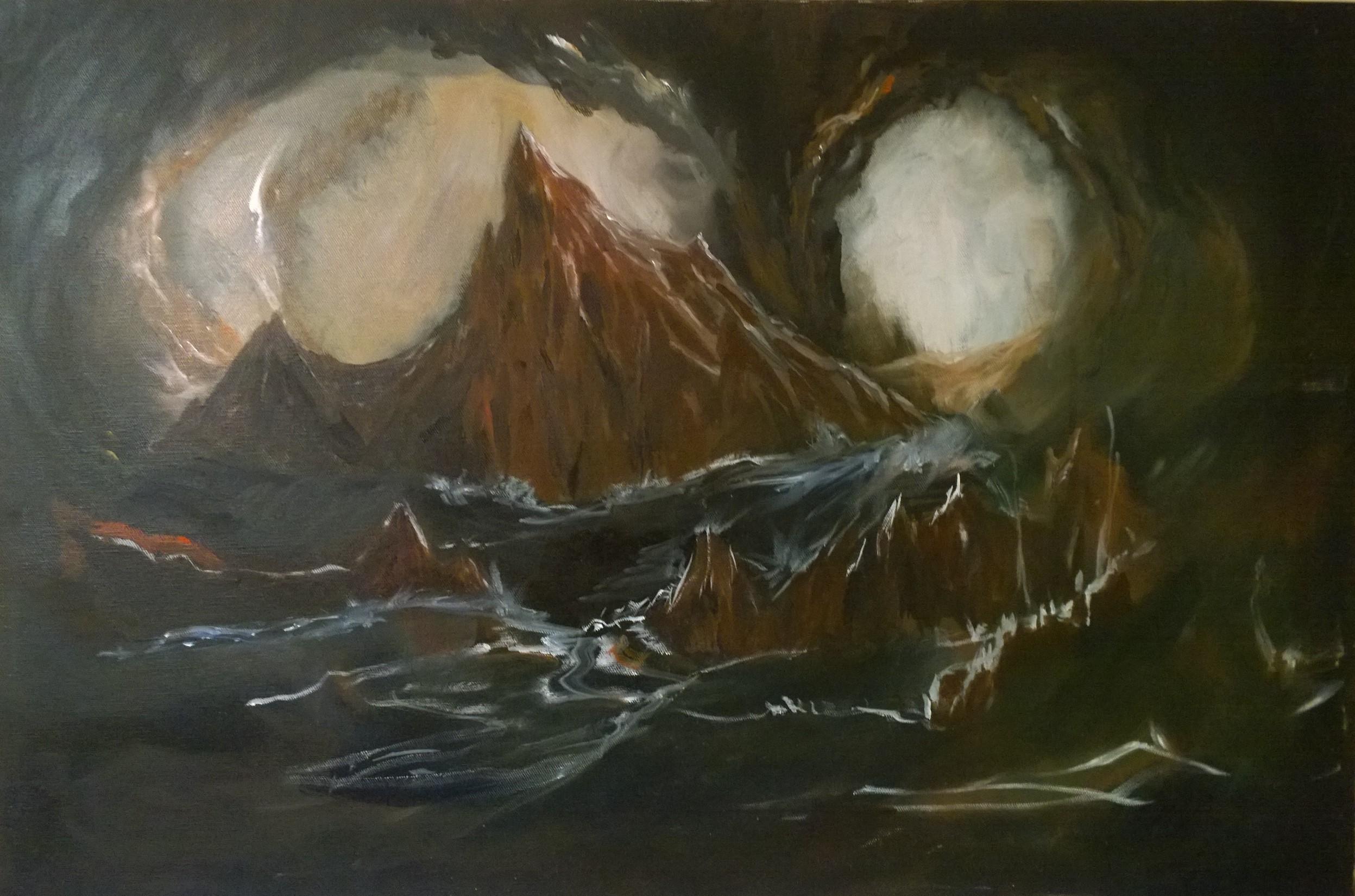 60x84 cm  Oil on Canvas