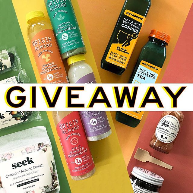 🚨Last Chance!🚨GIVEAWAY x 4!!! Spring has arrived (yay!) so let's celebrate with helping you renew from the inside & out with deliciously clean & lean nutrition + beautifully pure skincare.  We've teamed up with our friends at @TheMetaBrew + @SeekFood + @CleanAsKale to #GIVEAWAY an epic Spring Renewal prize package (everything pictured in this post + more) to one lucky winner! Here's how to enter to win: . LIKE this photo TAG a friend below (more tags = more entries, separate comments please) FOLLOW the Clean Spring Squad: @OriginAlmond + @TheMetaBrew + @SeekFood + @CleanAsKale *Open to US residents only. Giveaway ends 3/25/18 at 10pm EST. Contest is not sponsored by or affiliated with Instagram.  Good luck and may the tags be ever in your favor! ✌🏼