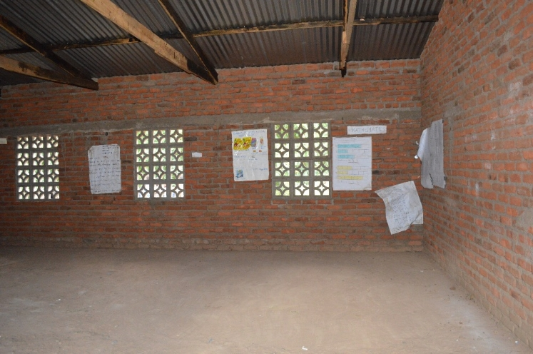 The Cardinal Classroom features two rooms with dirt floors