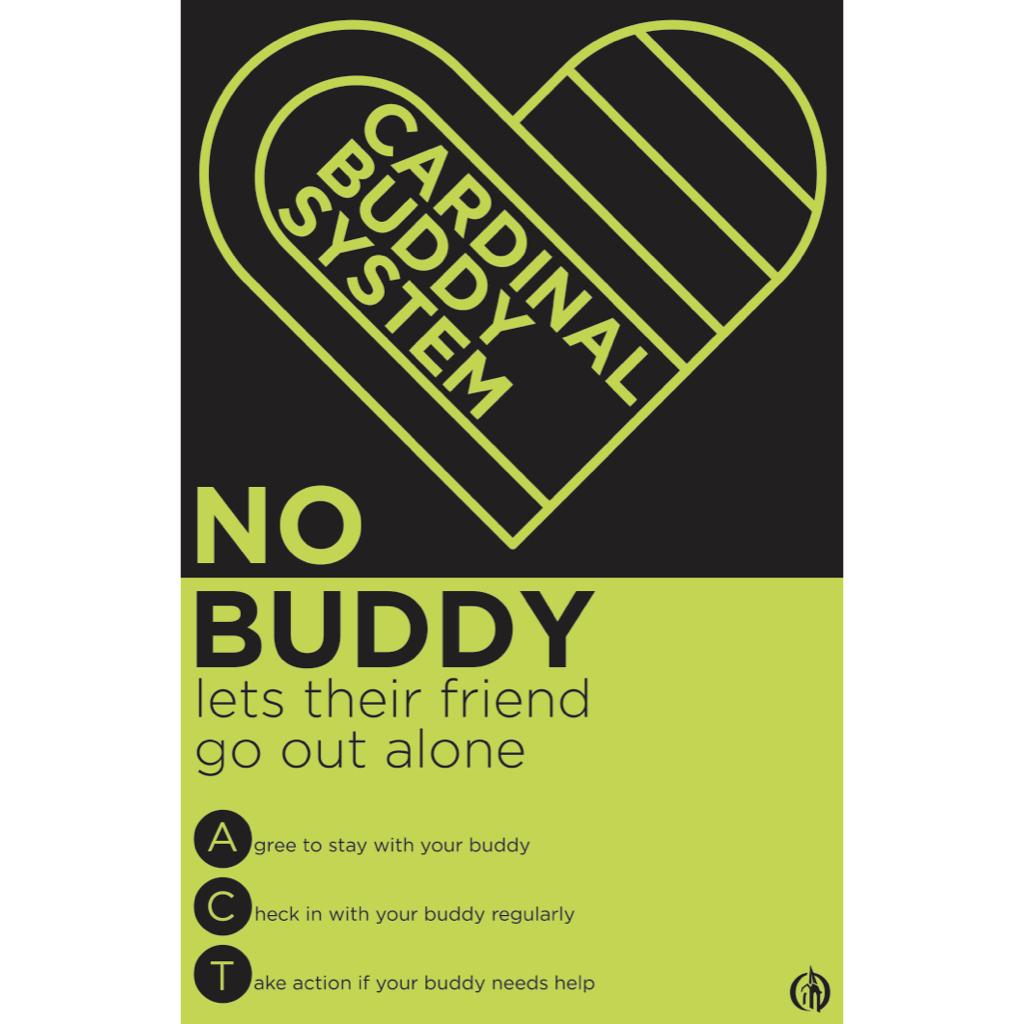 Poster: Cardinal Buddy System