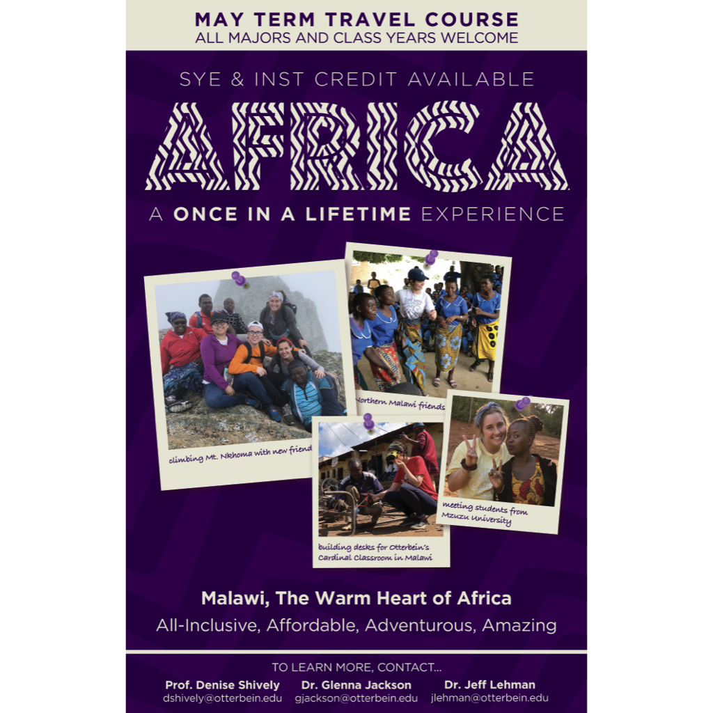 Poster: Africa Travel Course