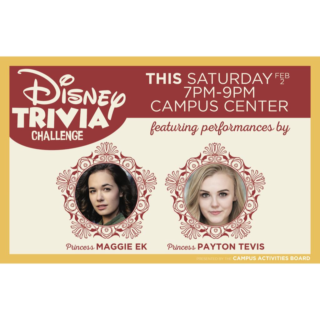 Monitor Graphic: Disney Trivia Challenge