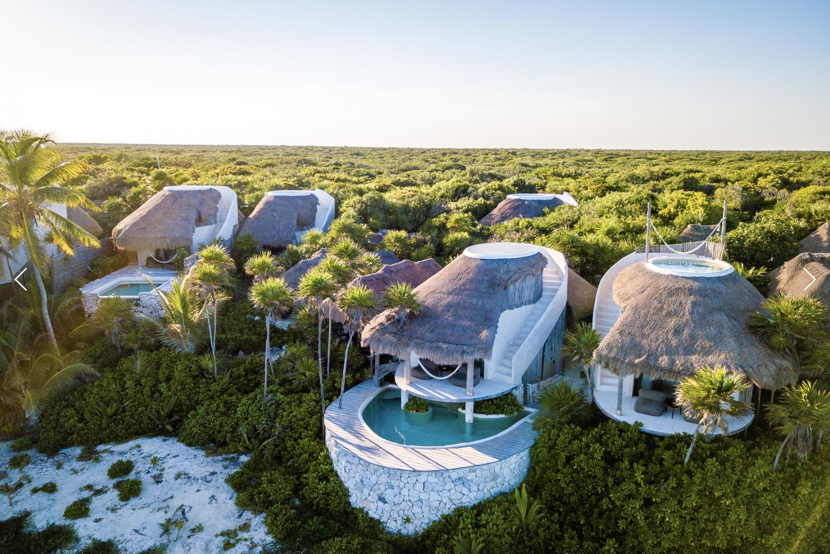 Papaya Playa Project - Casitas rum från 3800/natt