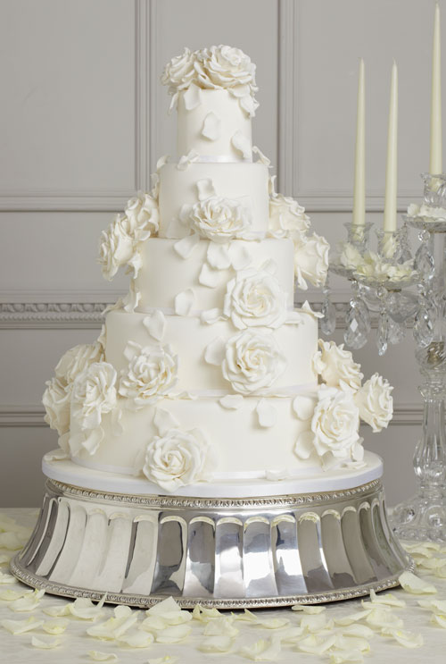 The Dream: A Peggy Porschen Wedding Cake. -