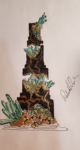 A Black and Emerald Design I have on the books. -