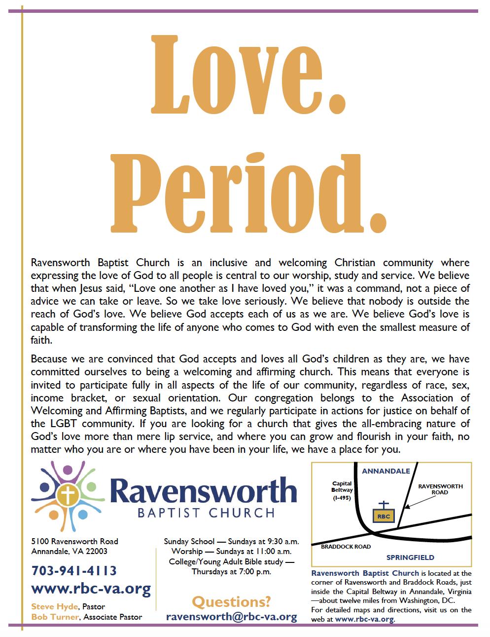 """Love Period"" Promotional Flier, 2010"