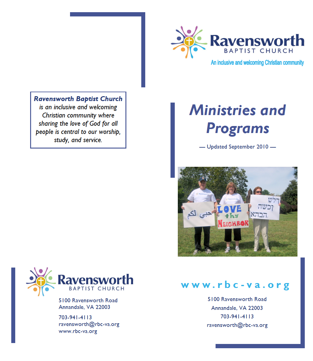 Catalog of Ministries, 2010