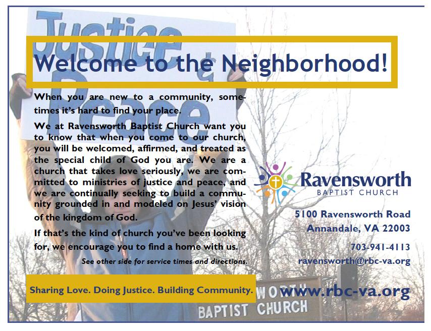 New Neighbor Postcard 2010 — Front