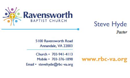 Ravensworth Business Card