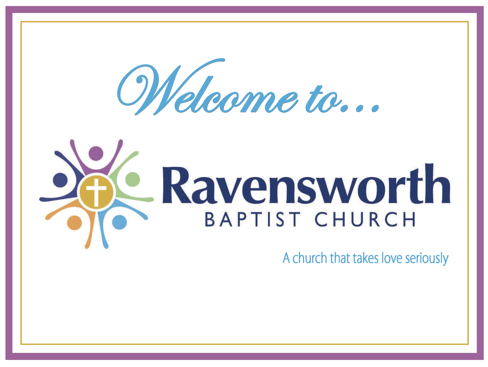 Welcome to Ravensworth Baptist Church