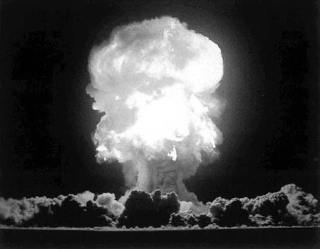 """"""" Nuclear Blast 1945 """" by  Thomas Williams  is a Creative Commons image, licensed under  CC BY-SA 2.0"""