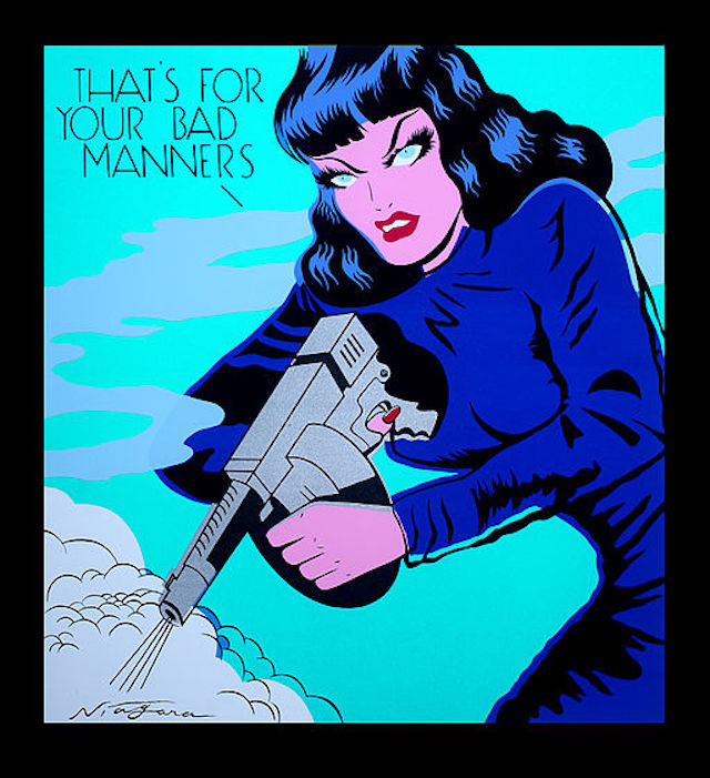 """Image: """" That's for Your Bad Manners """" by  Niagara Detroit  is used by  permission"""