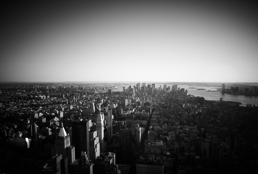 NYC, the big fish pond of society. Photography by Christian Mushenko