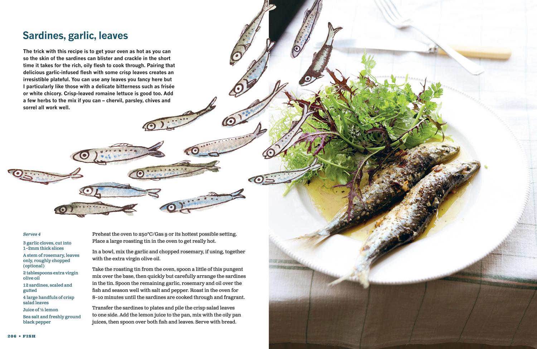 Hugh's Three Good Things cookbook