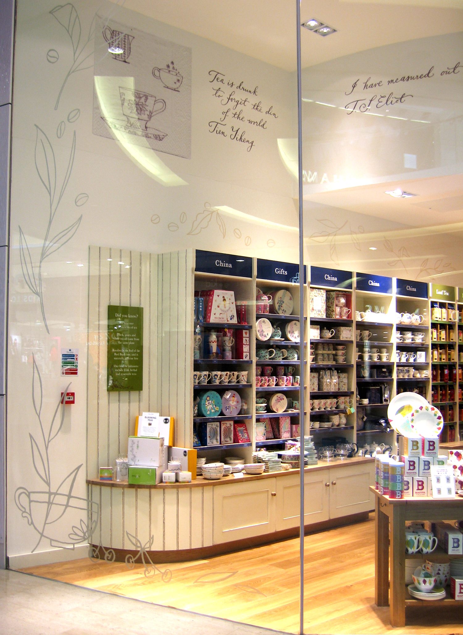 Whittards flagship store