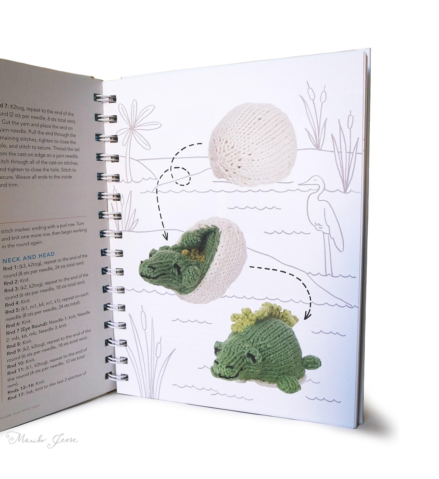 Topsy-turvy Inside-out knit toys book
