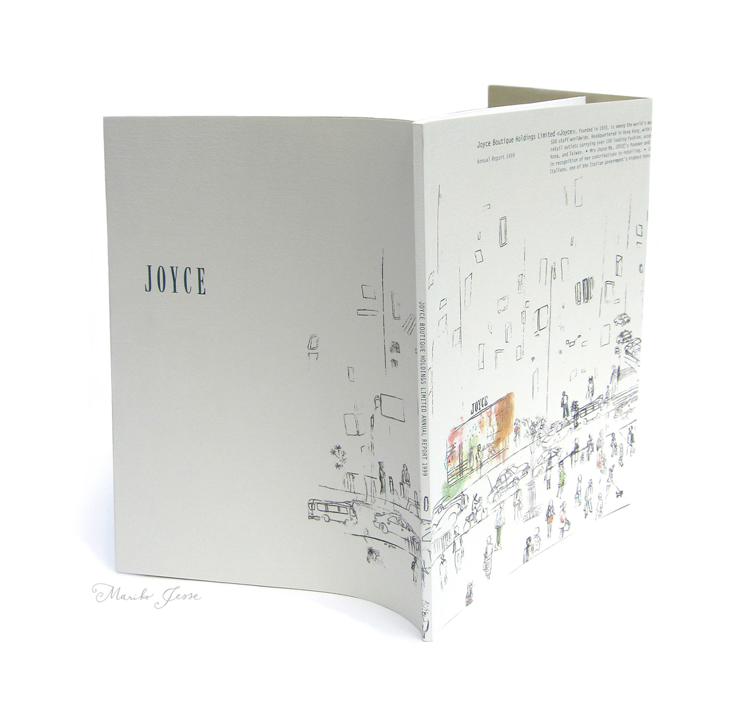 JOYCE annual report
