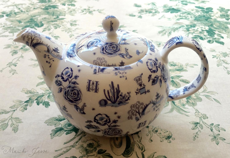 The Huntington teapot