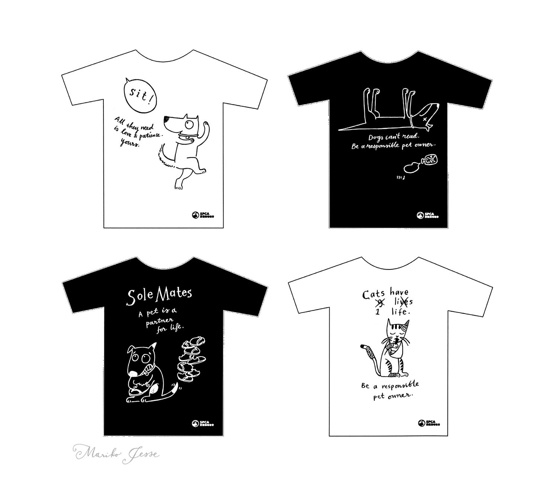 SPCA tshirts