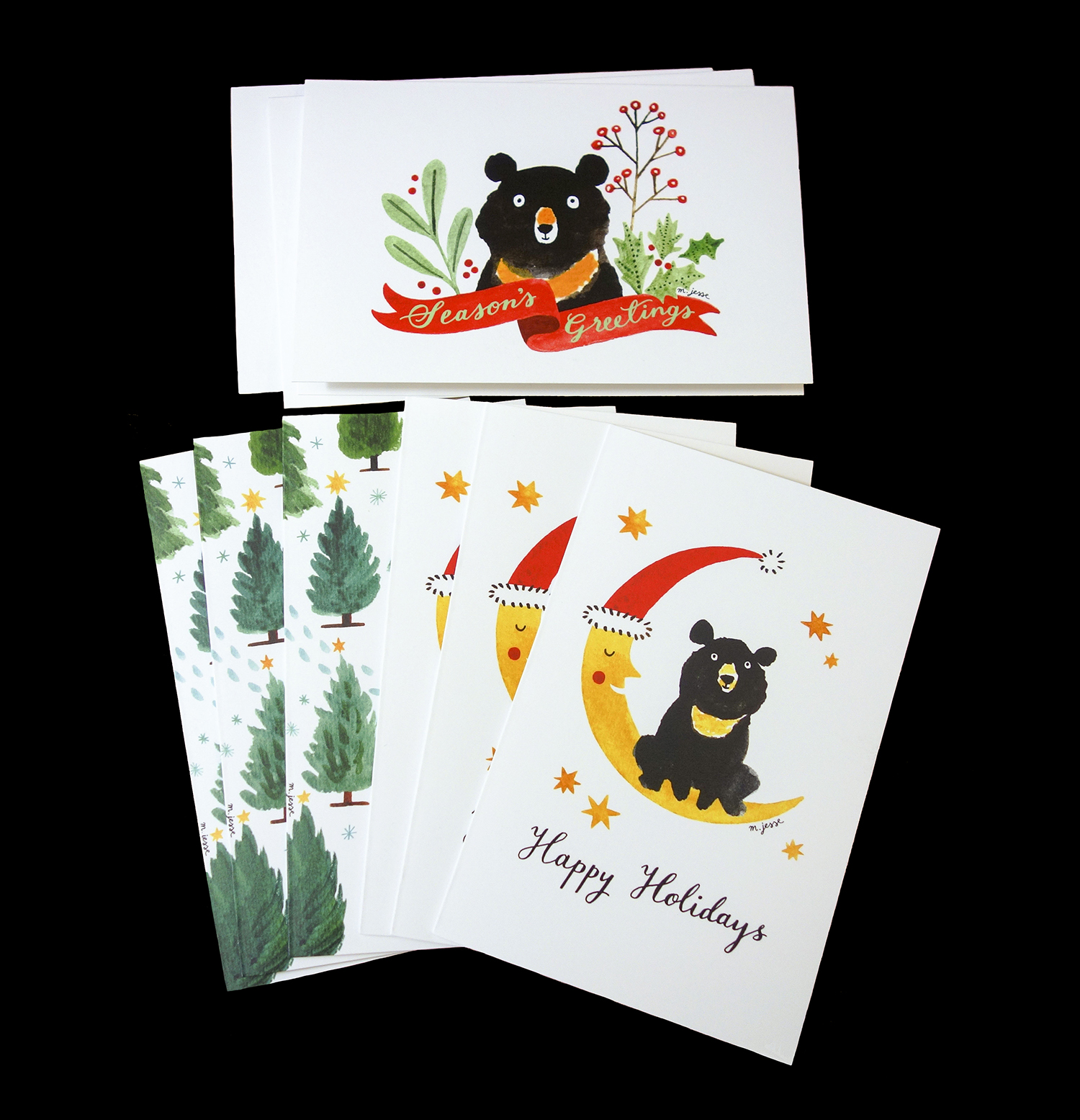 animal asia holiday cards