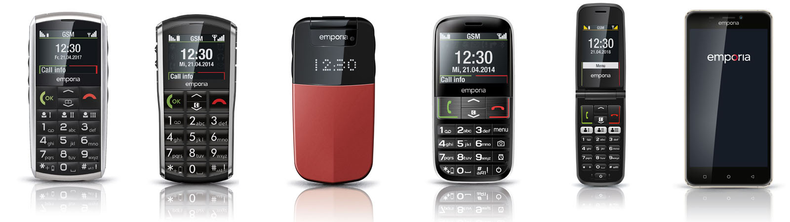 The Emporia Anywhere range