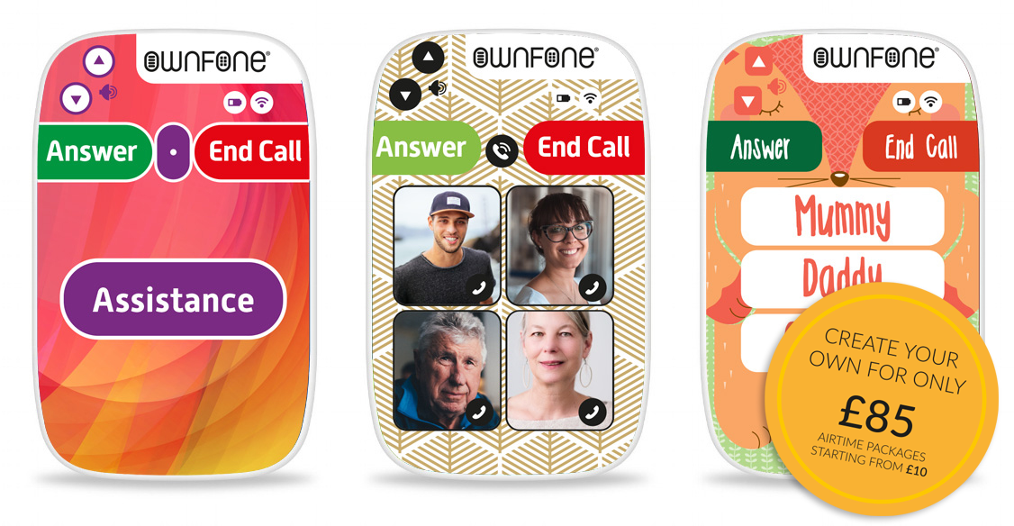 Fully customisable phones for the family