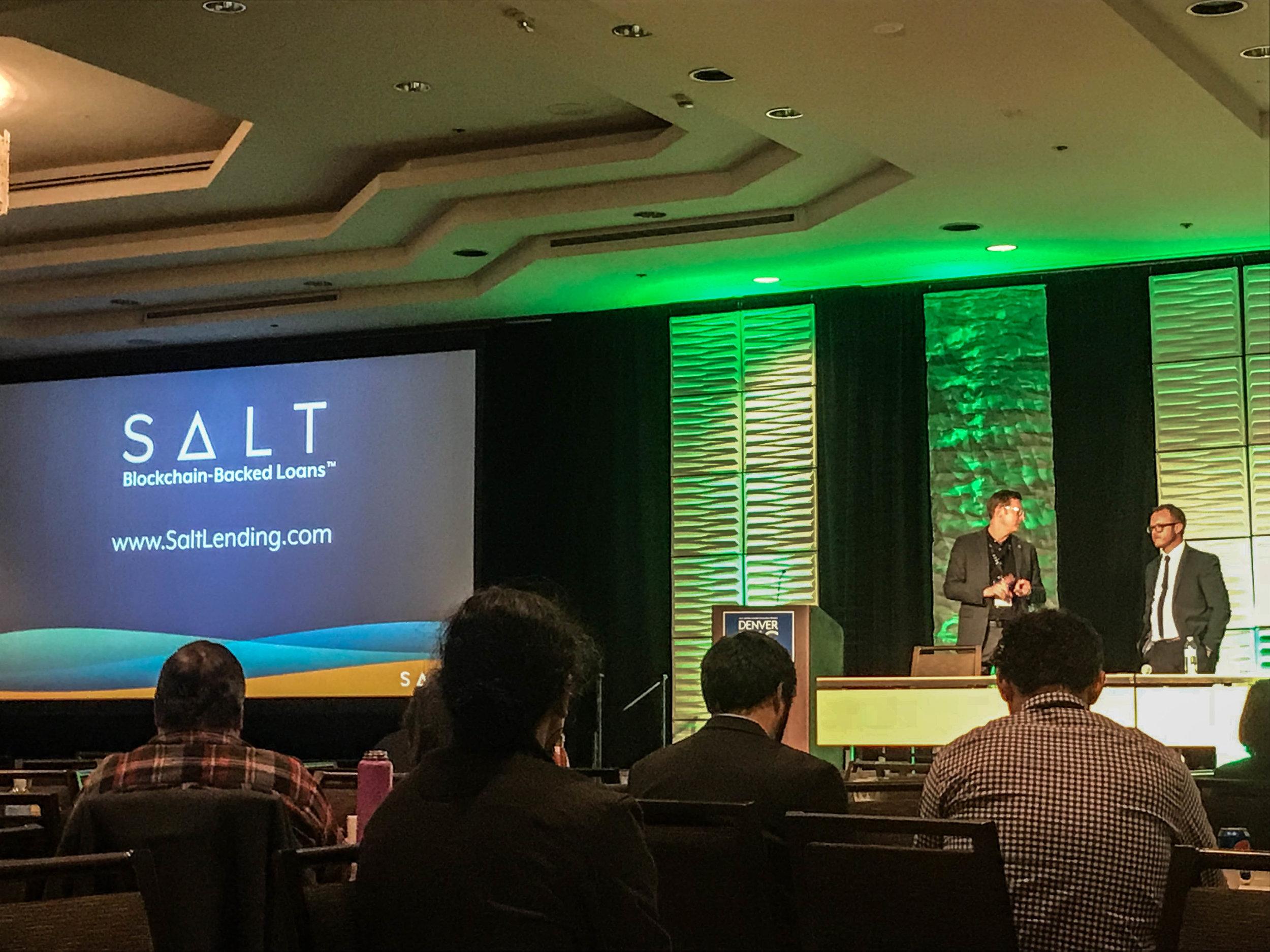 SALT's CEO Shawn Owen & CD Caleb Slade at d4c.