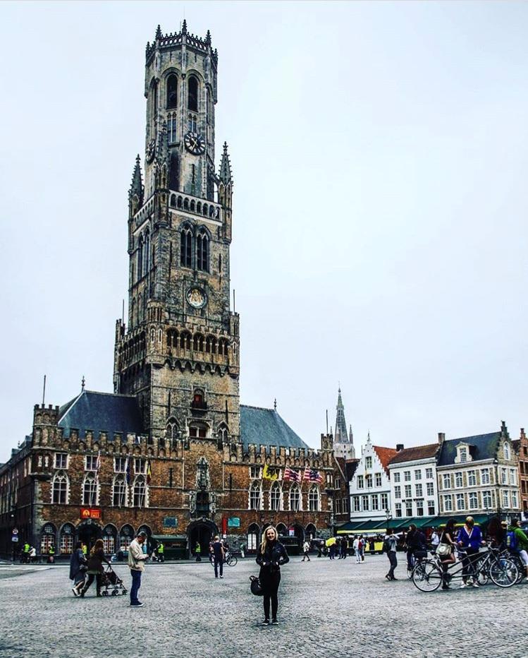 The Bruges Belfort Clocktower.