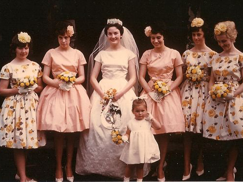 1960's wedding party - Getting your vintage style just right!