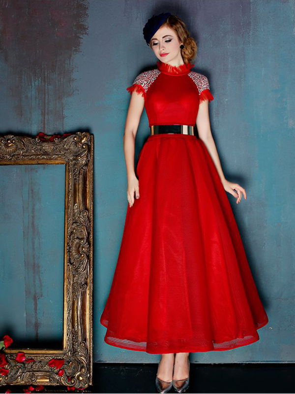 Ballerina length gown by Dressific