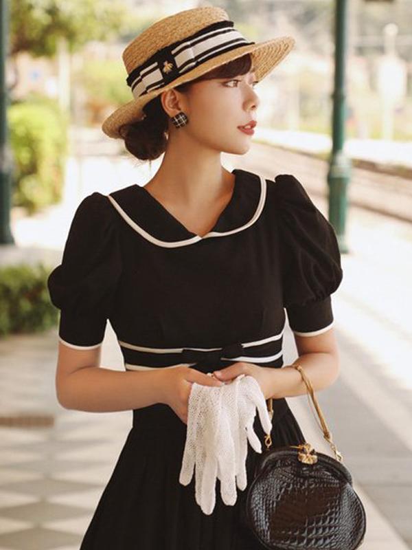 Tea length dress by Mr Water - Etsy