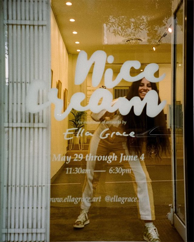 THANK YOU!! Thank you to everyone who came on the opening night, to those who came by on the exhibiting days, to the people who bought original paintings, prints and hoodies.  A big thank you to my brother @jordaanjames who helped with all of the design, concepts and for being my biggest fan.  Thank you to @gelatomessina for being so generous and your amazing support.  Thanks M2 Gallery for your awesome space.  Thank you to my family and friends that have helped in your big or little but greatly appreciated ways and those that travelled long distances and even got on planes to come!  And thank you to those who offered to help in some way.  Your kindness was not lost on me 🥰  𝐍𝐢𝐜𝐞 photos by @joeyjwells