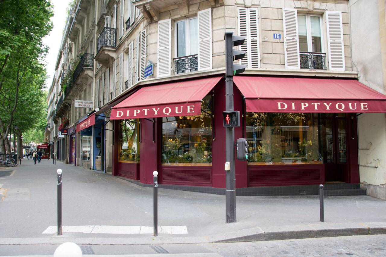 Pierwszy paryski butik Diptyque