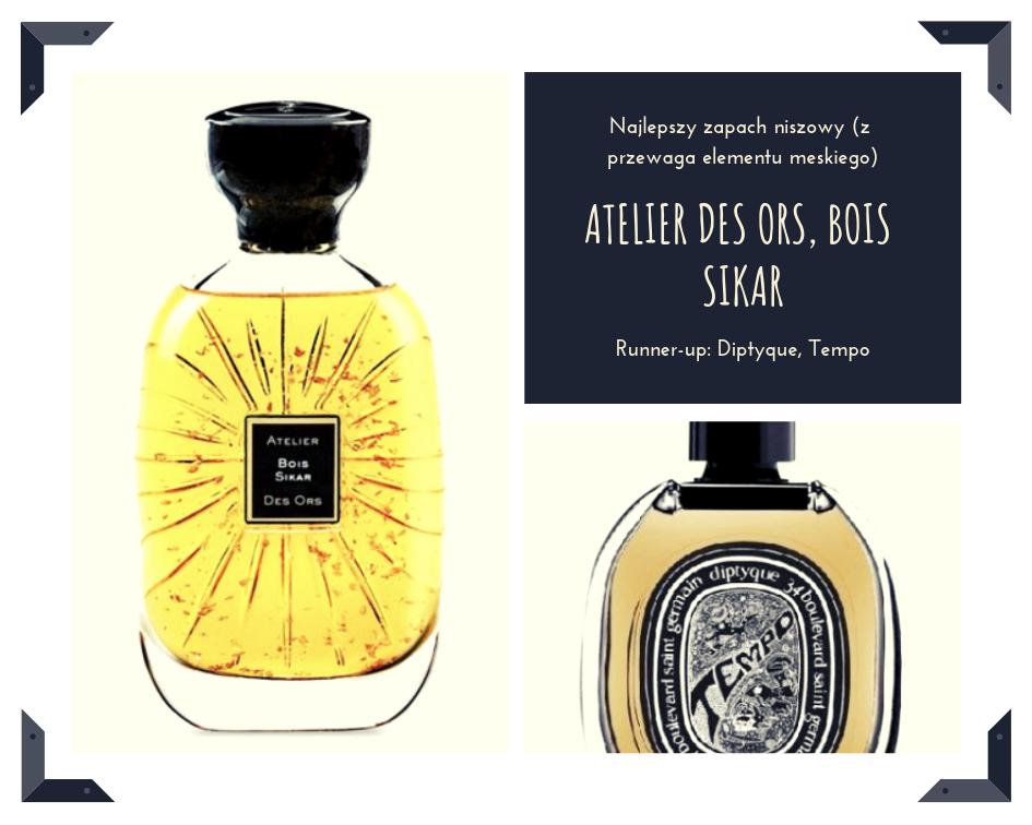 Szalenie elegancka i męska propozycja z dziegciem w roli głównej. Bois Sikar od Atelier des Ors (Quality) dodaje rysu gentlemana. Tempo, które jest jednym z dwóch zapachów celebrujących 50-cio lecie marki Diptyque (Galilu), to piękna zielona paczula. Zdecydowanie na mniej zobowiązujące okazje.