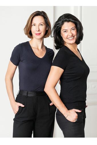 Aniela i Sarah - twórczynie Camdunia