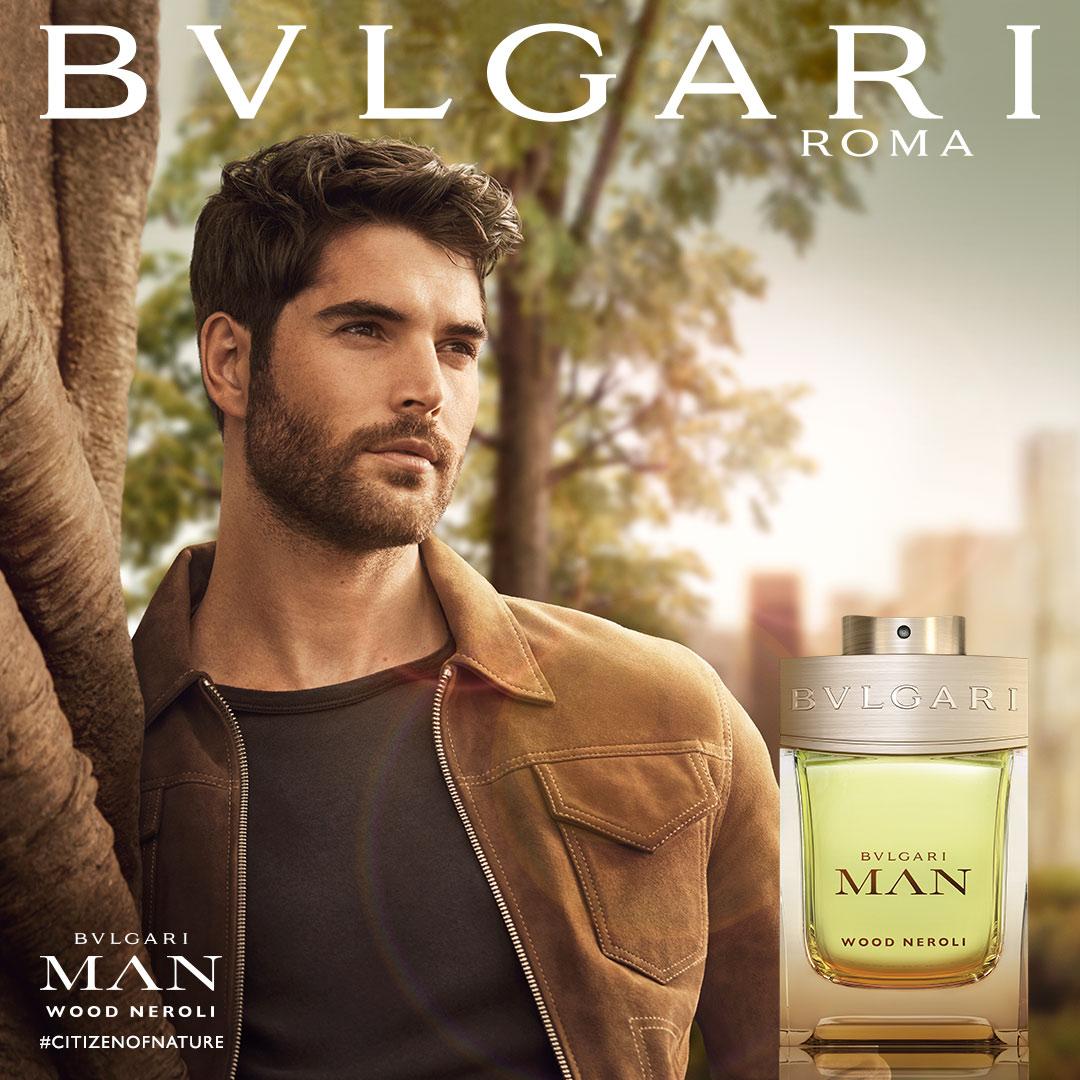 Twarzą zapachu Bvlgari został, po raz kolejny, kanadyjski model Nick Bateman