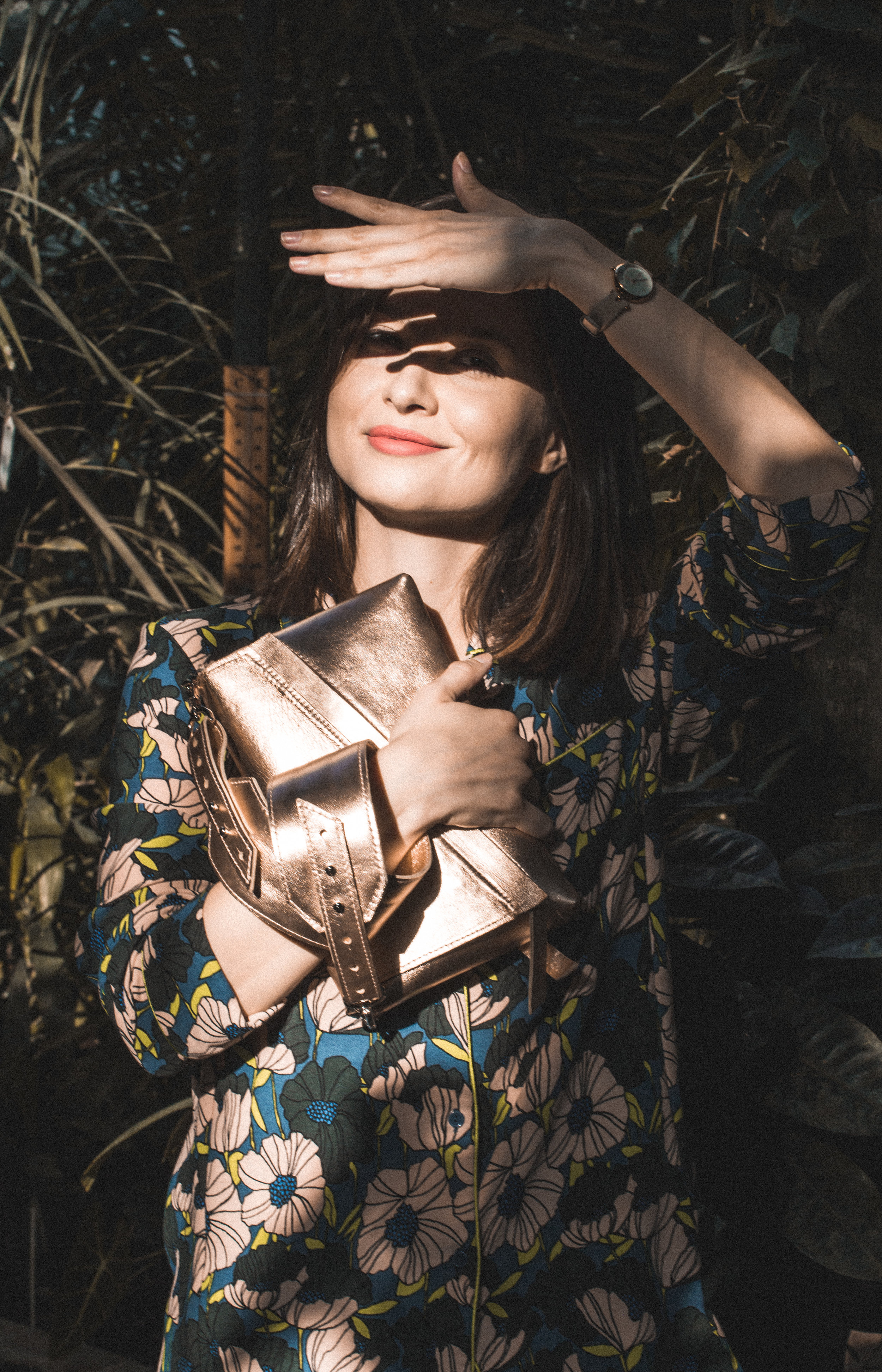 Molnár Viola Anna Vengru rosegold táska