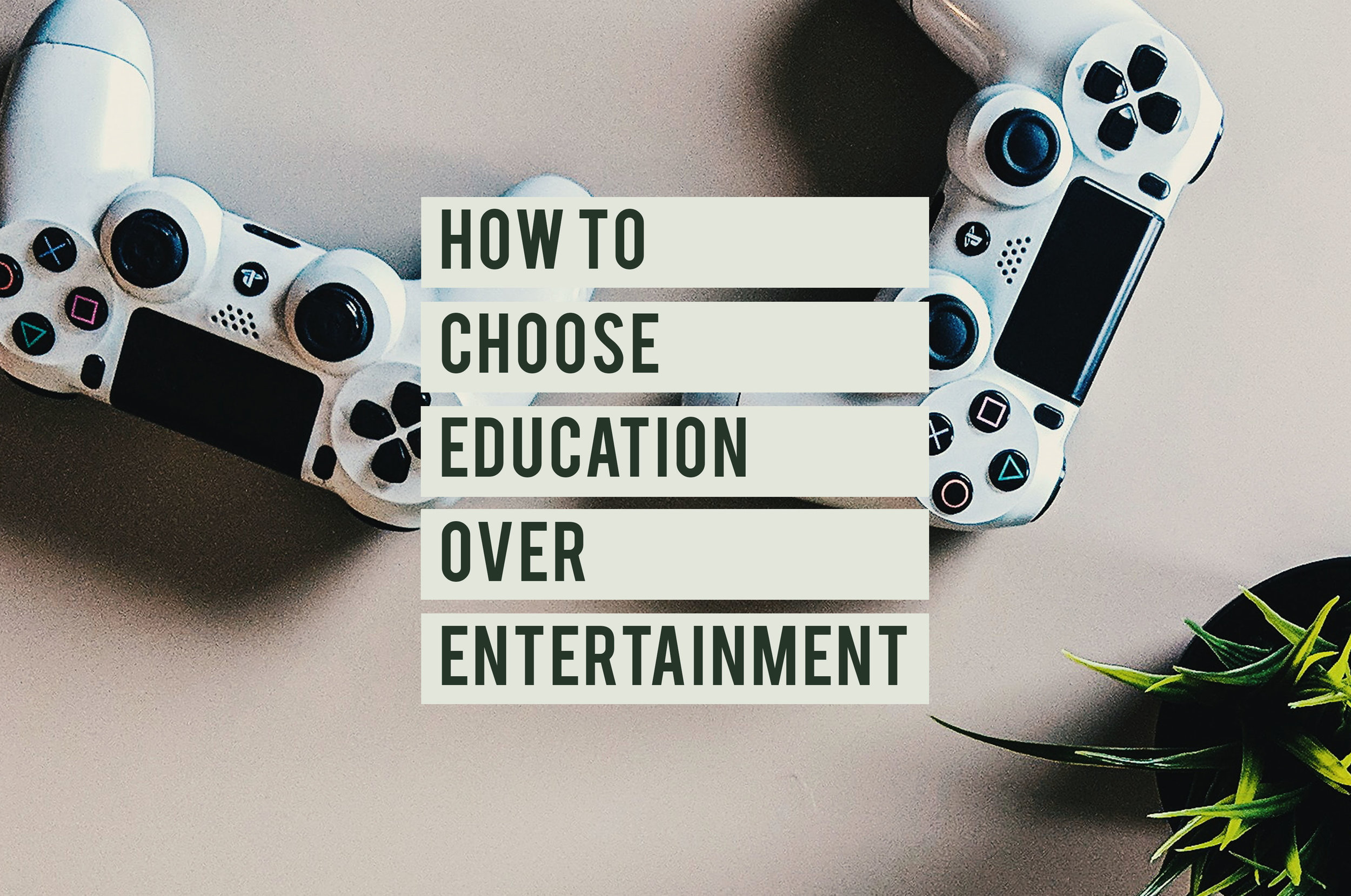 How to Choose Education over Entertainment.jpg