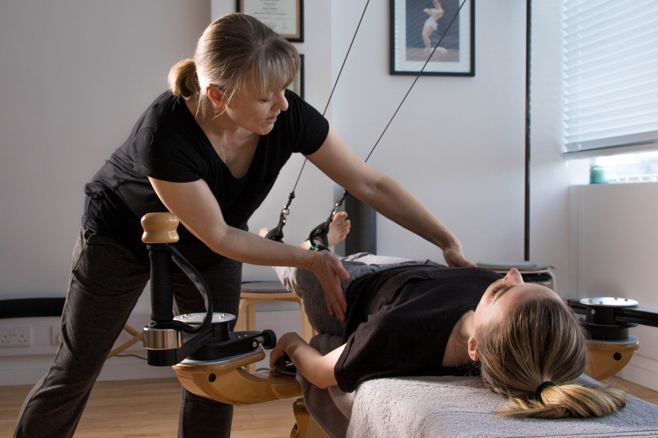 Ready to try something new? - Book a FREE 30min taster session!Or a package of 4 sessions for the full Gyrotonic experience