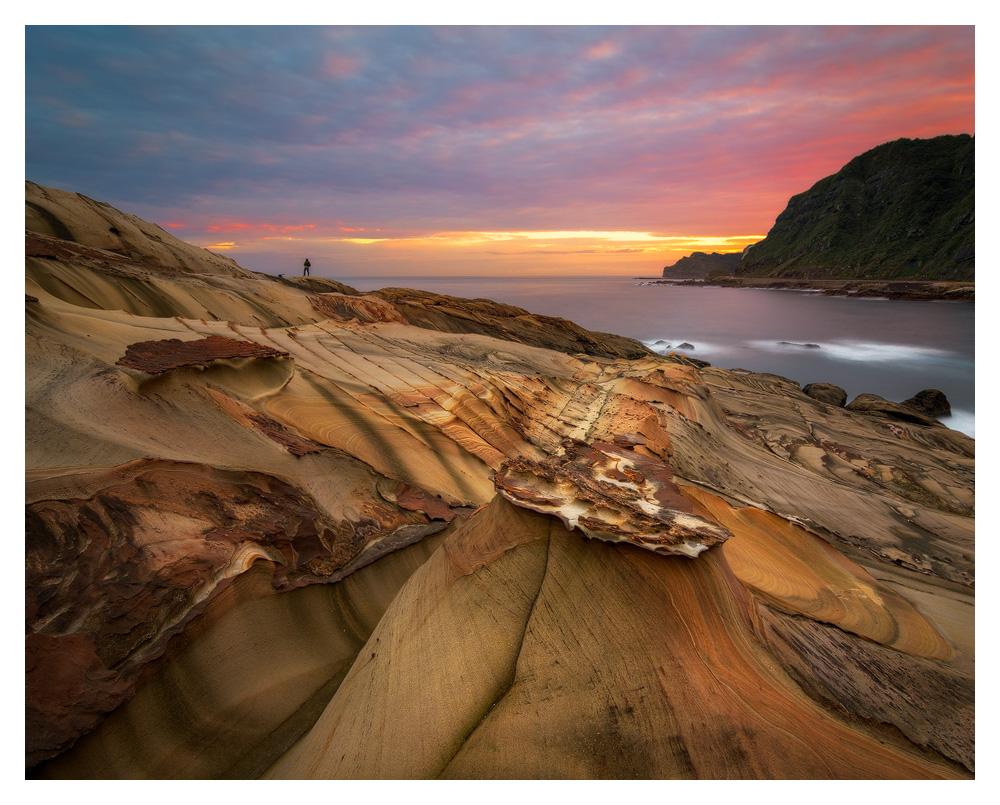 Nanya Rock Formations and a really amzing sunrise.