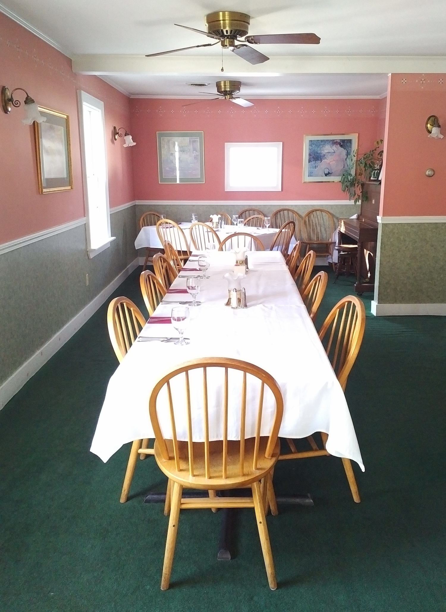 "The ""Stable Room"" can be reserved for private parties of up to 50 people."