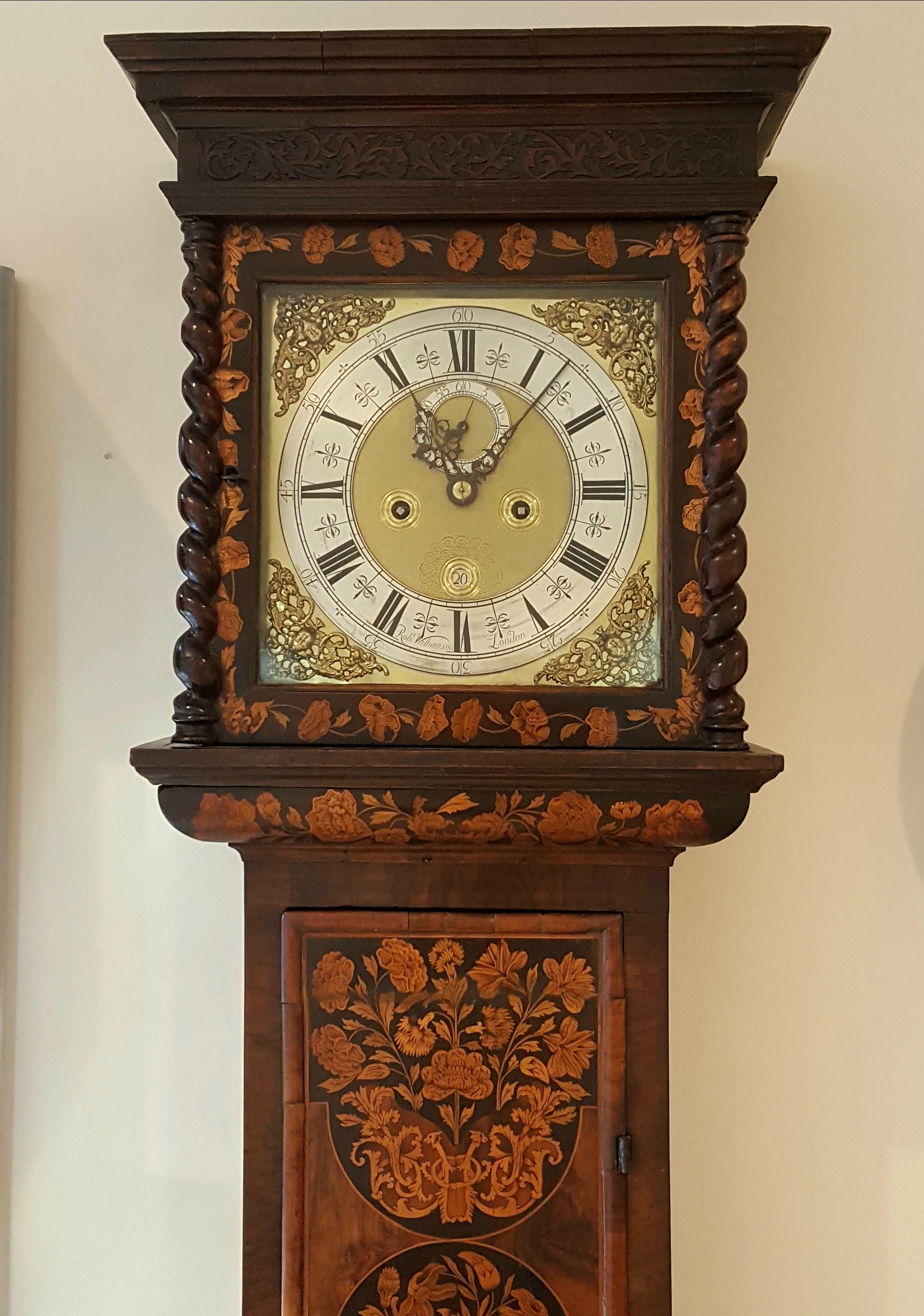 William & Mary Long Case Clock