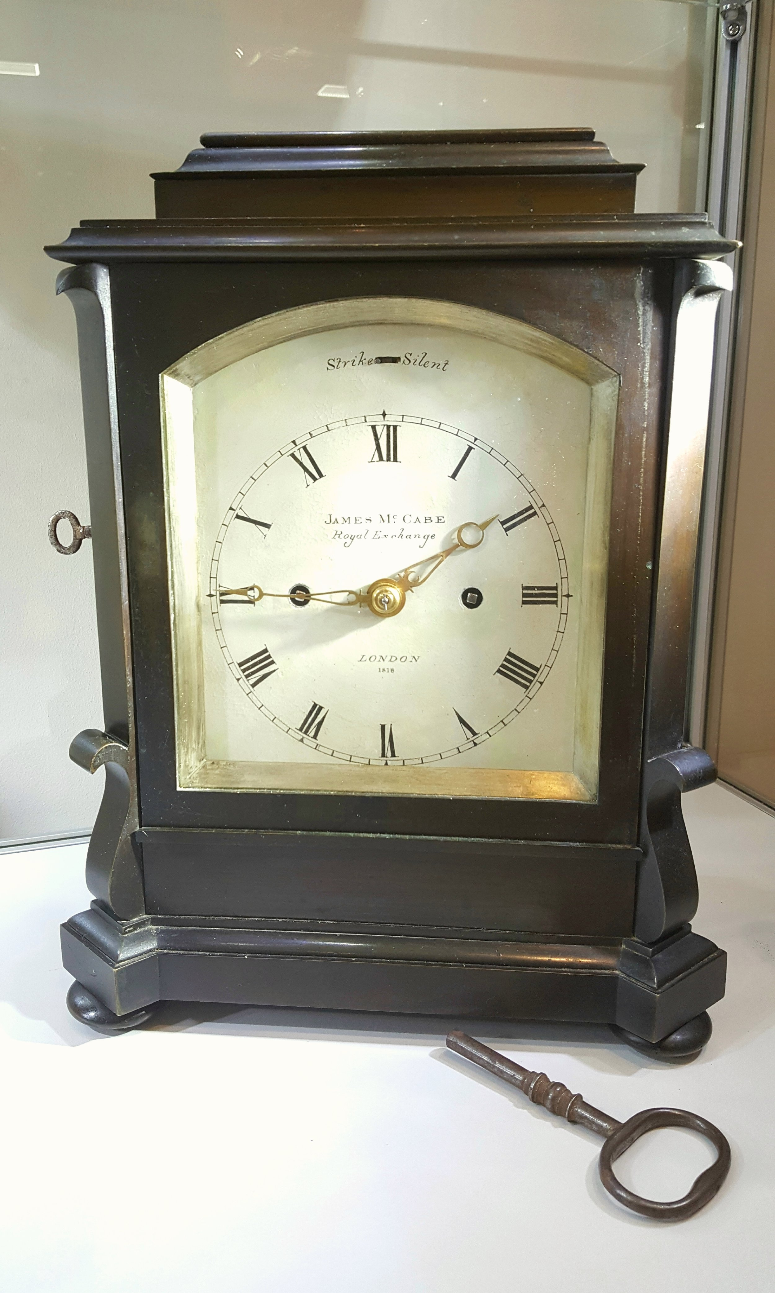James McCabe Bracket / Table Clock