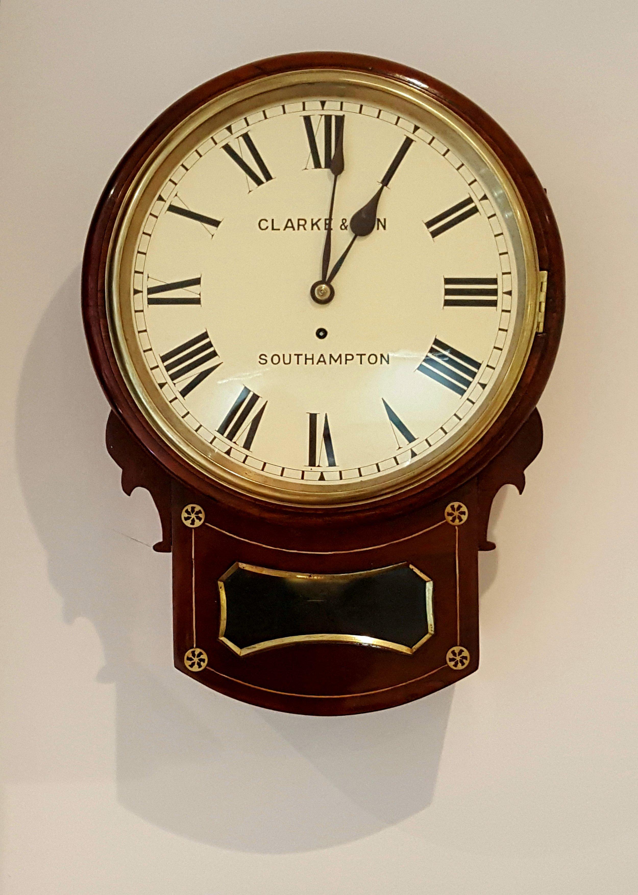 Clarke & Son English Wall Clock