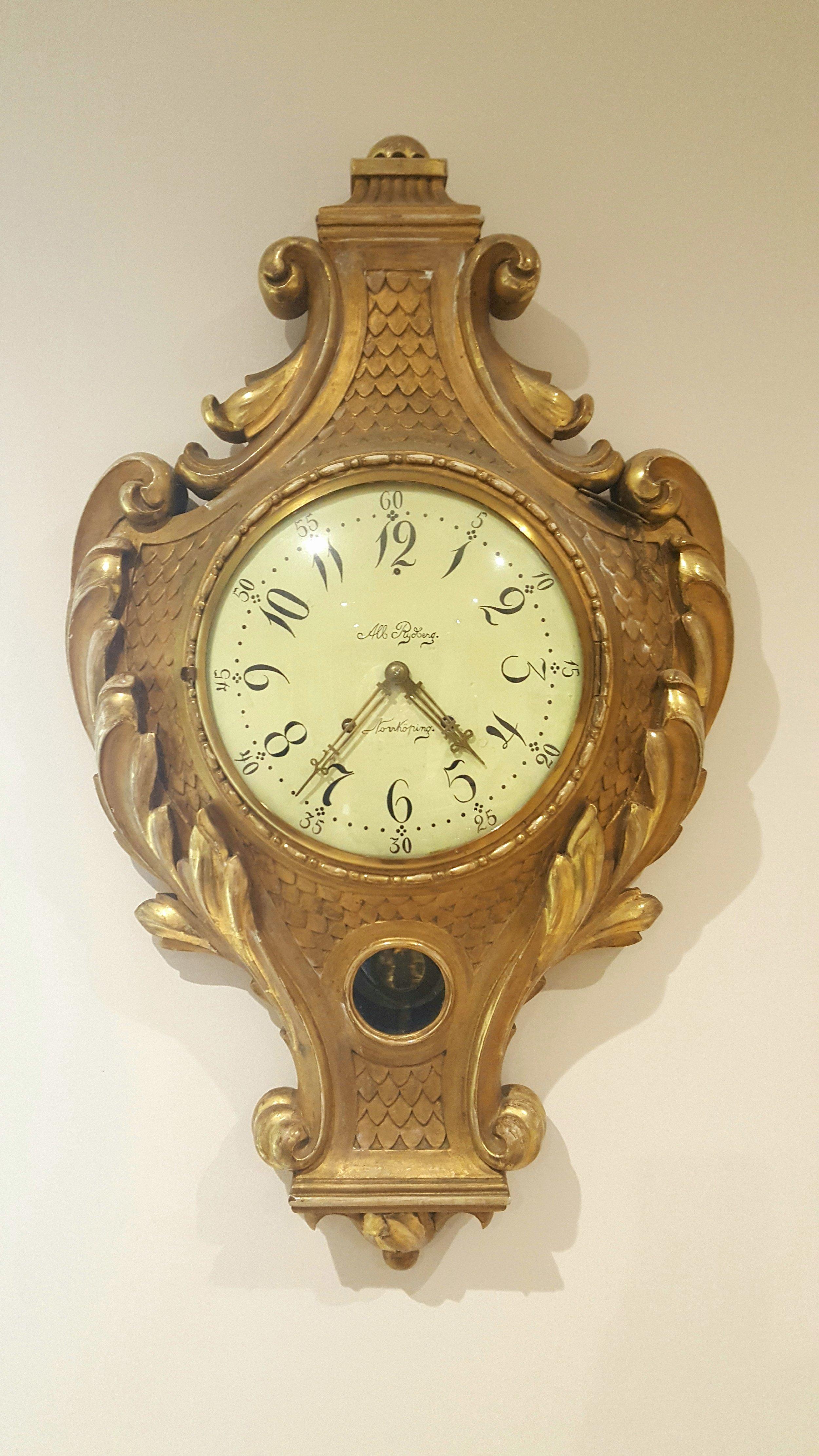 Large Continental Cartel Clock