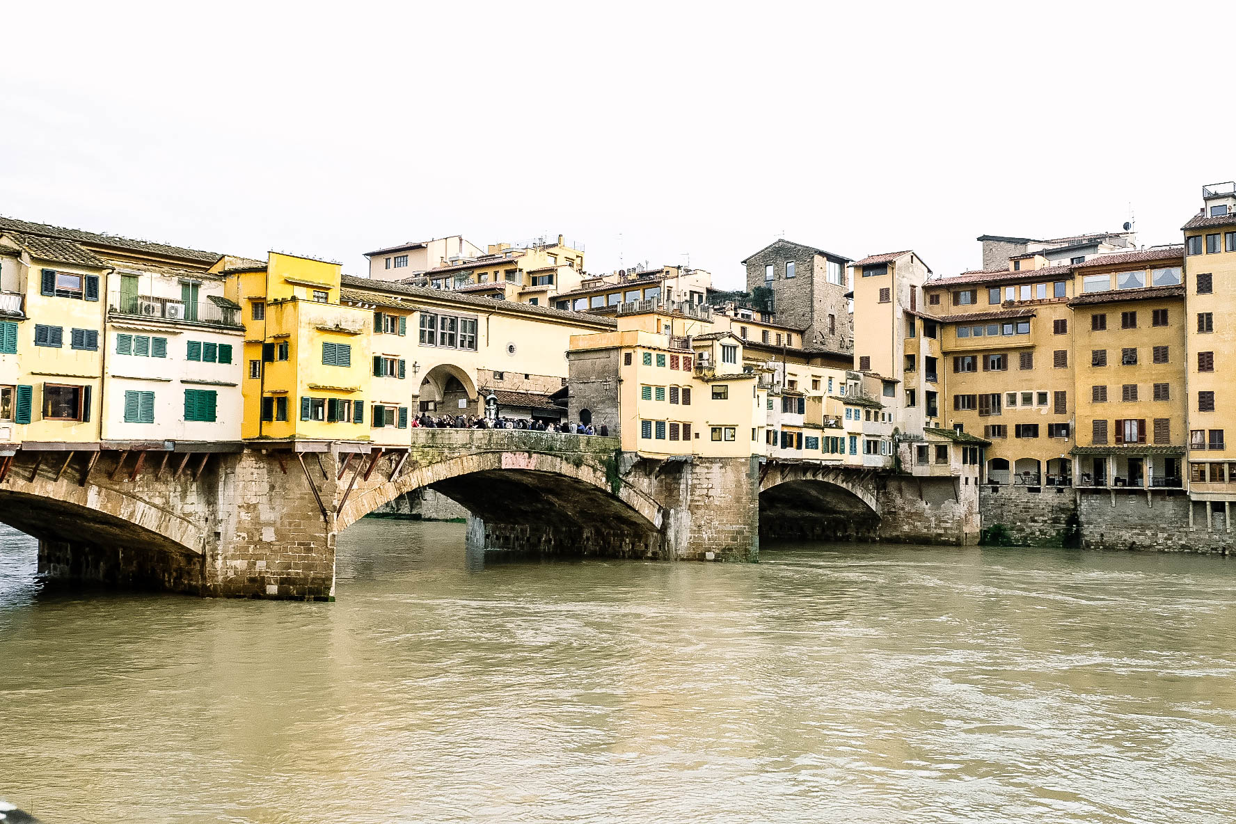 View on Ponte Vecchio
