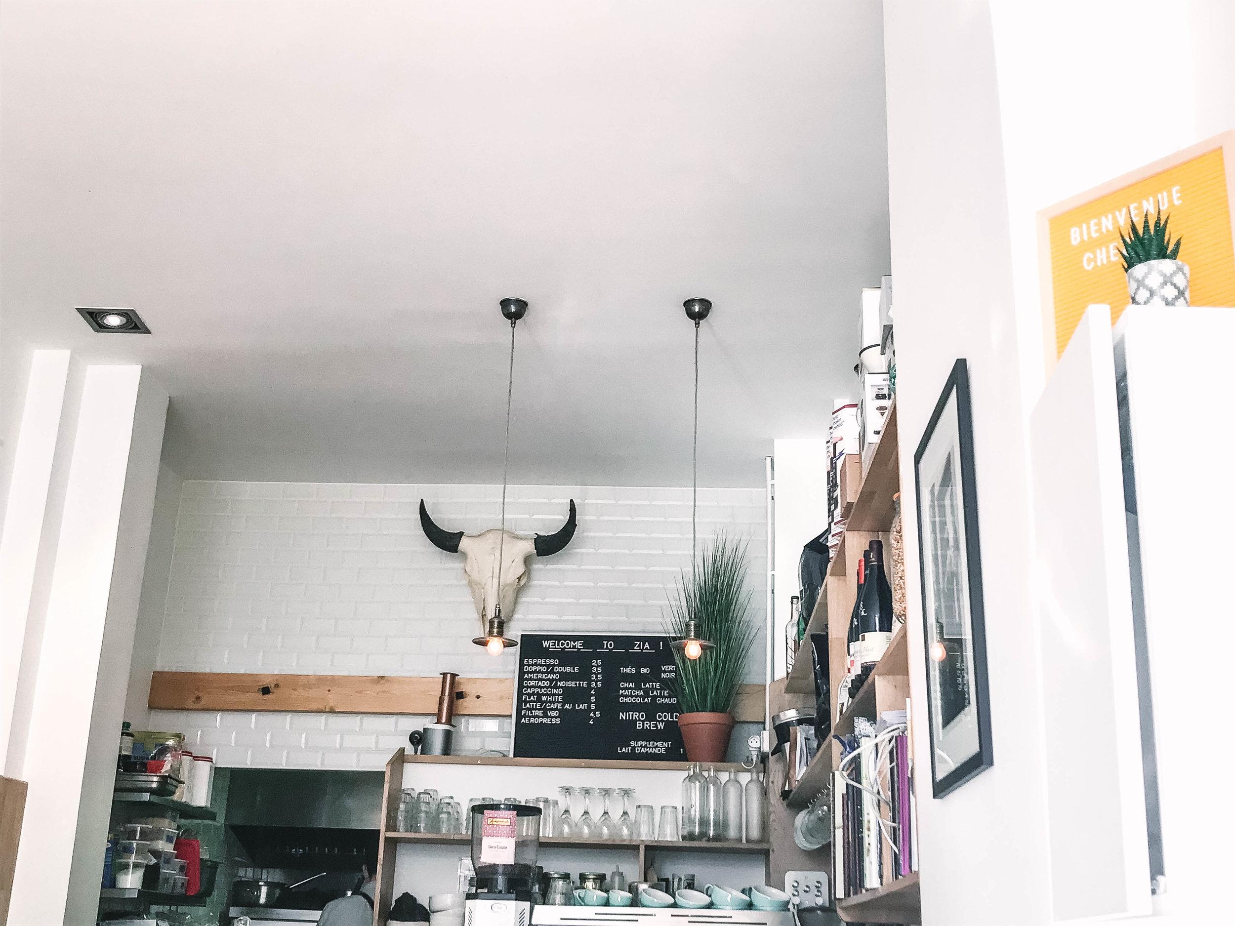 Zia Cafe - Hours: Closed Mondays, Tues-Fri 8:30-6, Sat-Sun 10-5
