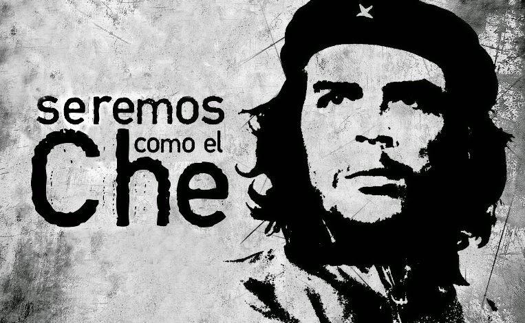 """Seremos como el Che""/ ""We will be like Che"", Cuban revolutionary slogan"